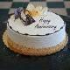 Buy Heartfelt Anniversary Cream Cake
