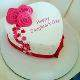 Buy Heart Shape Daughters Day Cake
