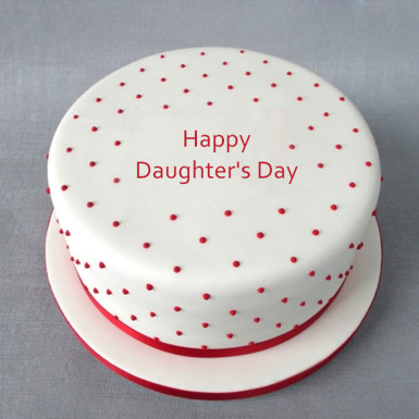 Buy Daughters Day Fondant Cake