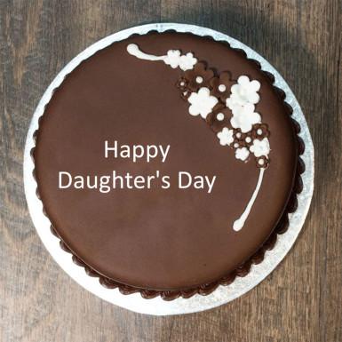 Buy Daughter Day Chocolate Cake