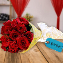My Love Red Roses Bunch