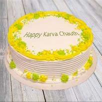 Happy Karwachauth Cake