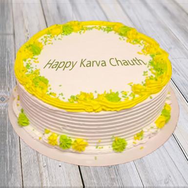 Buy Happy Karwachauth Cake