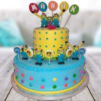 Minion Mode On Cake