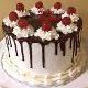 Buy Choco Vanilla Birthday Cake
