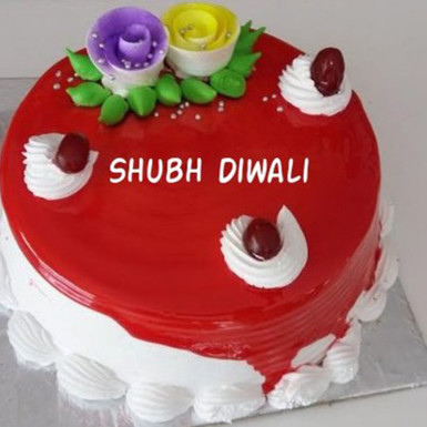 Buy Strawberry Diwali Cake