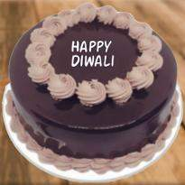 Chocolate Diwali Cake