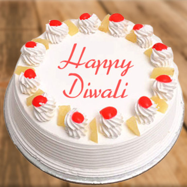 Buy Pineapple Diwali Cake