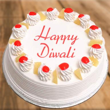 Buy Pineapple Diwali Cake