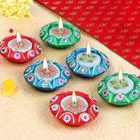 Set of 6 Diya