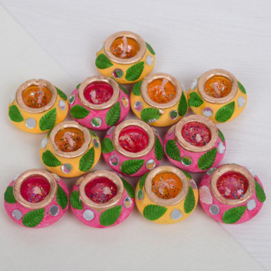 Buy Set of 12 Diya
