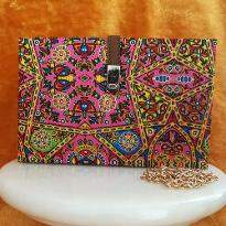 Jaipuri Printed Clutch