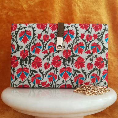 Buy Floral Printed Clutch
