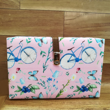 Buy Butterfly Cycle Print Clutch
