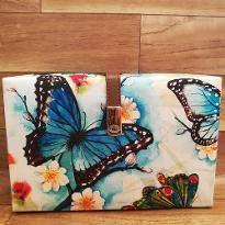 Butterfly Print Clutch