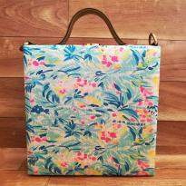 Colorful Print Handbag