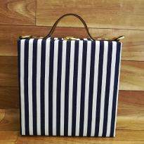 Horizontal Print Handbag