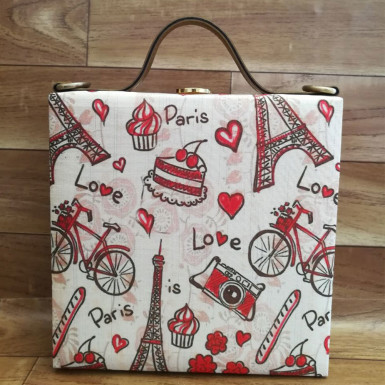 Buy Paris Love Handbag