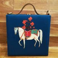 Horse Print Handbag