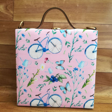 Buy Cycle Printed Handbag