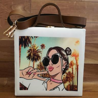 Buy Girl Print Handbag