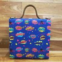 Comic Print Handbag