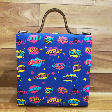 Buy Comic Print Handbag