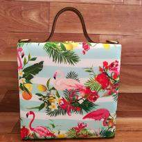 Adorable Bird Print Handbag