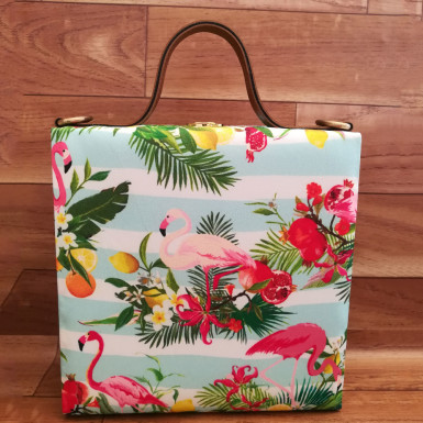 Buy Adorable Bird Print Handbag
