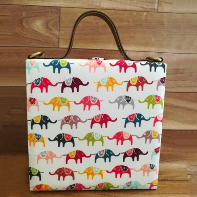 Buy Elephant Print Handbag