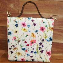 Adorable Floral Sketch Handbag