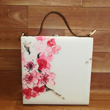 Buy Floral Art Handbag