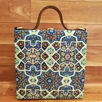 Fantastic Geometric Print Handbag