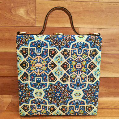 Buy Fantastic Geometric Print Handbag
