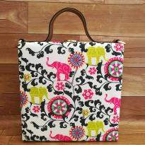 Cute Elephant Print Handbag