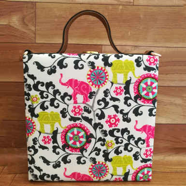 Buy Cute Elephant Print Handbag