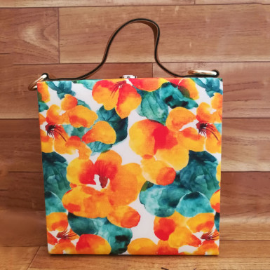Buy Yellow Printed Handbag