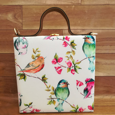Buy Bird Sketch Handbag