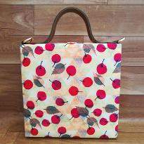 Cherries Print Handbag