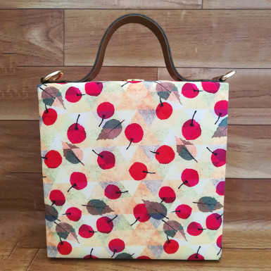 Buy Cherries Print Handbag