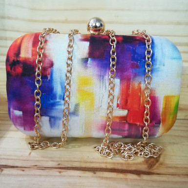 Buy Colorful Printed Clutch