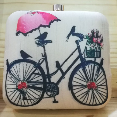 Buy Cycle Print Clutch