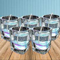 Light Up Glass Candles