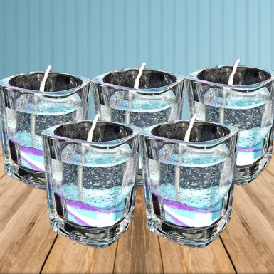 Buy Light Up Glass Candles