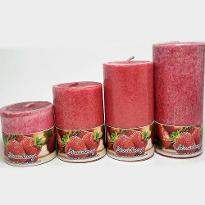 Strawberry Scented Candles