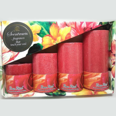 Buy Vibrant Rose Fragrance Candles
