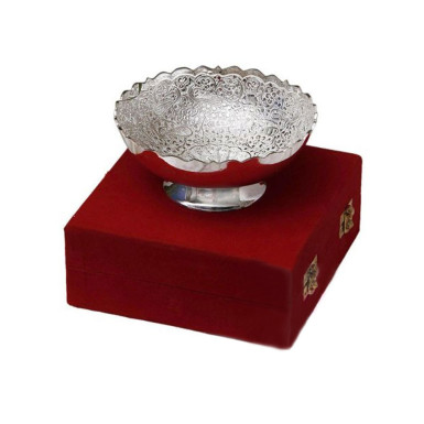 Buy Silver Brass Bowl
