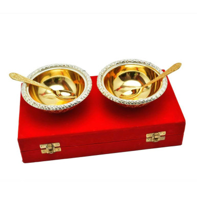 Buy Gold Plated Brass Bowl