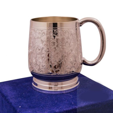 Buy Silver Plated Brass Beer Mug