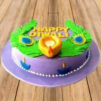Colorful Diwali Cake